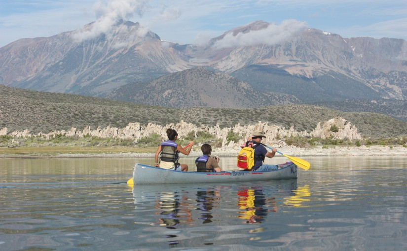 Book a Mono Lake Canoe Tour