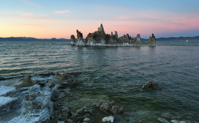 Sign up for a tour at Mono Lake